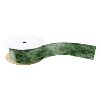 Green Water Satin Ribbon