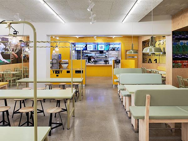 YOI Fast Food Restaurant // Lomar Arkitekter & JVD | Afflante.