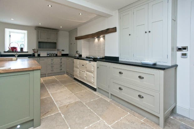 Modern country style get the look barn conversion chic for Modern barn kitchen