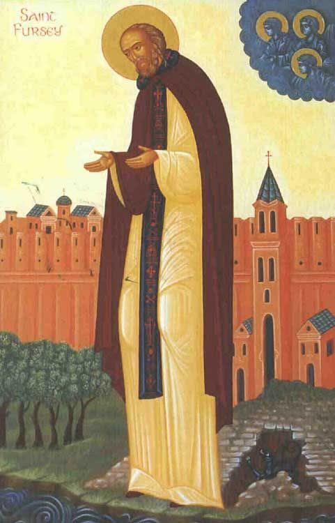 ST. FURSEY of Burgh Castle