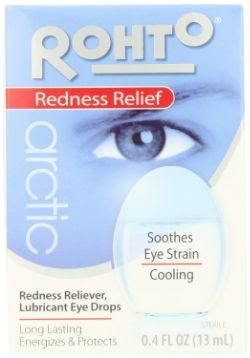 Rohto Lubricant and Redness Relieving Eye Drops