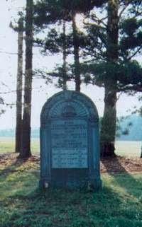 St. Raphael's Tombstone