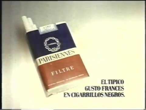 cigarrillos Parisiennes