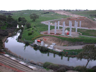 Bridge over Moorabool River
