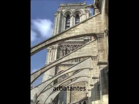 arquitectura gotica fachadas de casas y casas por dentro