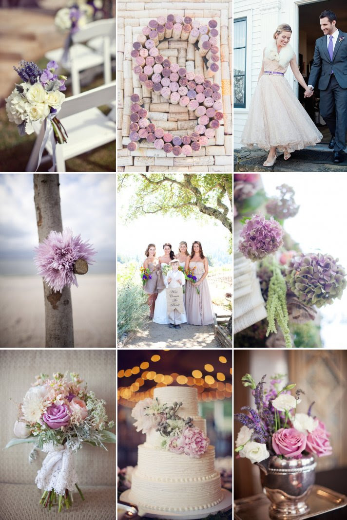 Perfect Palette for Romantic Winery Weddings | OneWed