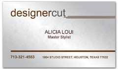 BCS-1015 - salon business card