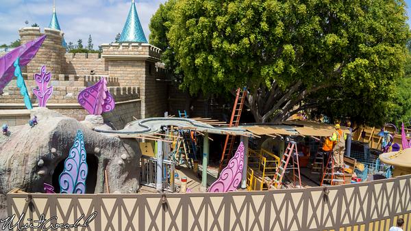 Disneyland Resort, Disneyland, Alice in Wonderland, Vine, Refurbishment, Refurb