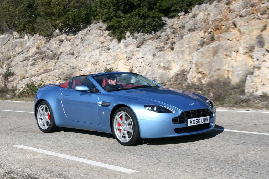 Five 2007-2008 Aston Martin Models Recalled For Suspension ...