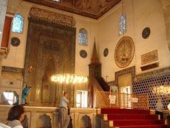 Di Dalam Green Mosque, Bursa, Turkey