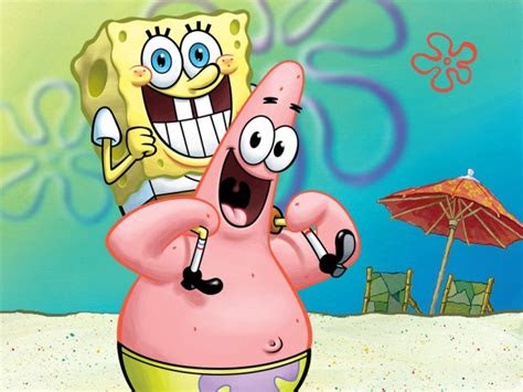 gambar spongebob lucu bikin gemes gambar animasi gif