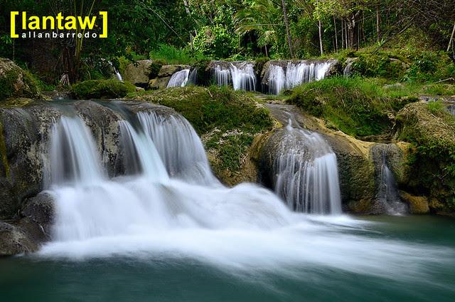 Cambugahay Falls Multi-level Cascades