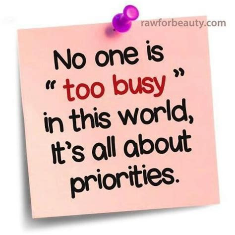 Too Busy Quotes