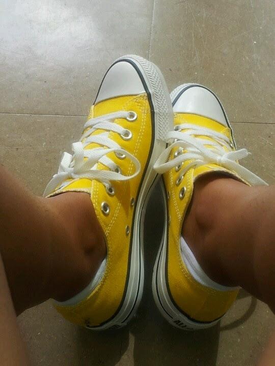 Love the yellow chucks