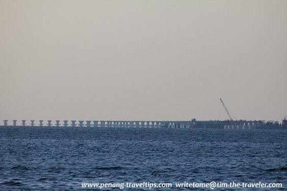 Piers of Second Penang Bridge