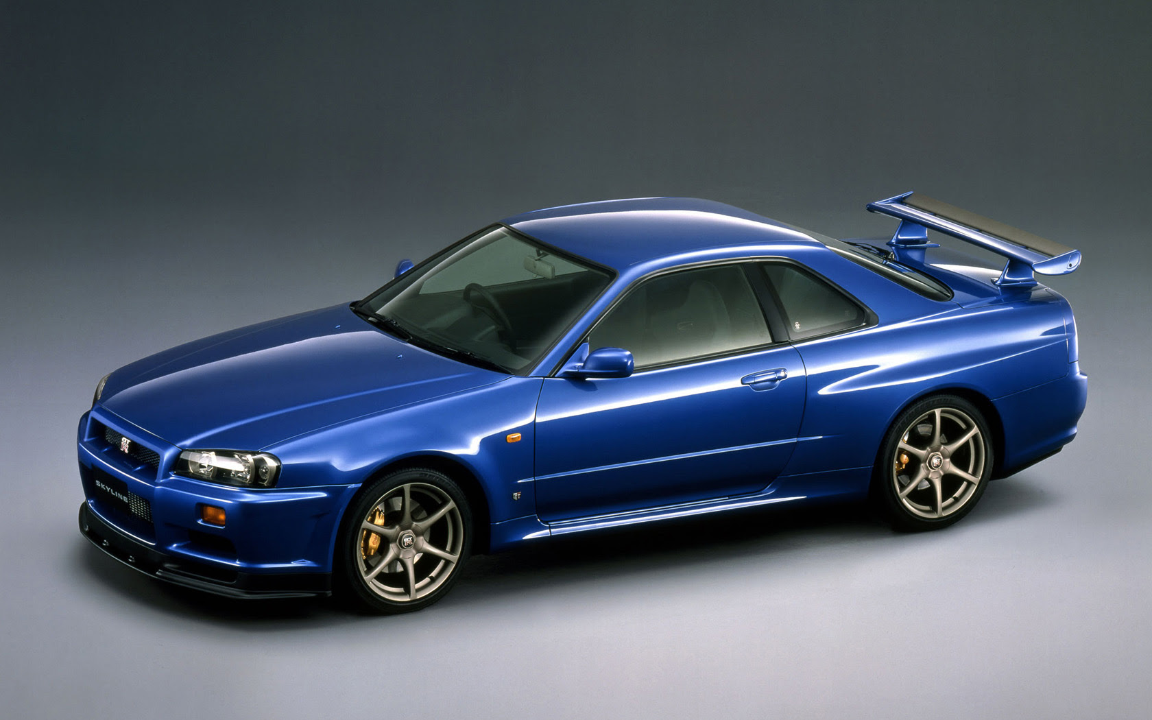 R34 Nissan Skyline Gtr Free Widescreen Wallpaper Desktop