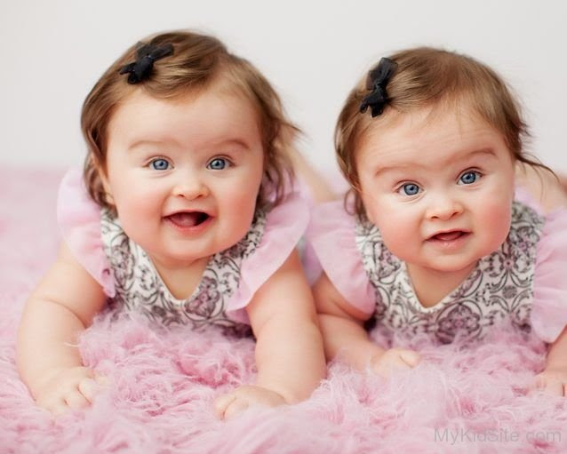 Image result for cute twin baby