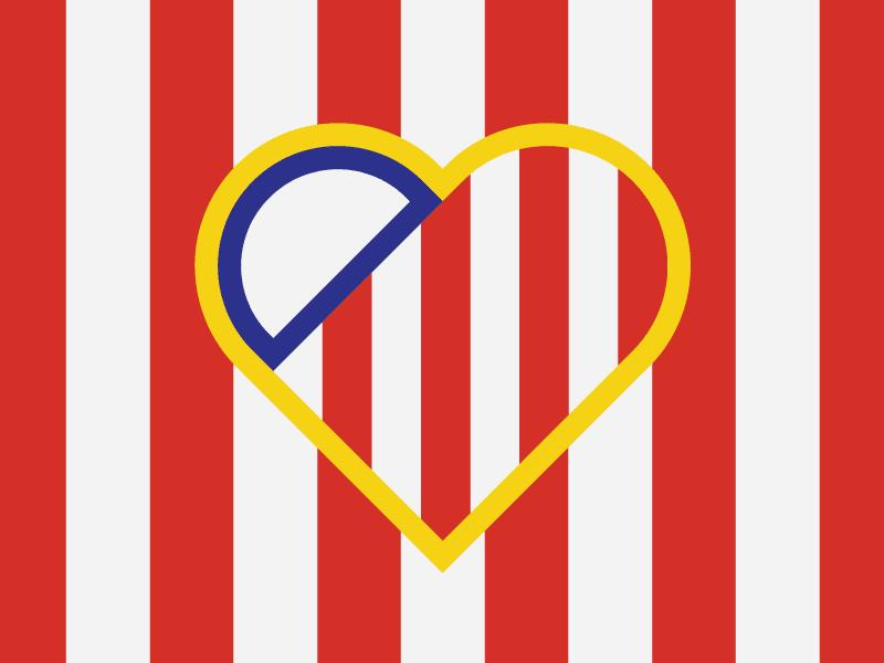 Atletico Madrid Logo Png Profil Pemain Sepak Bola