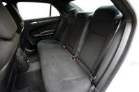 2011 Chrysler 300 rear seats