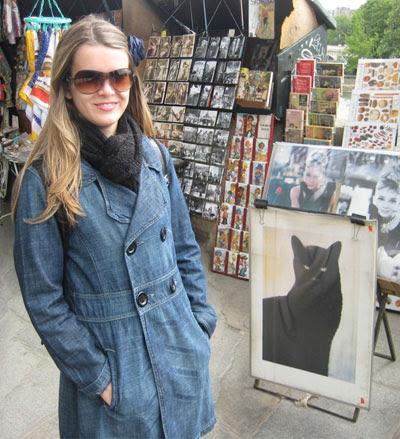 paris ila fox chat noir