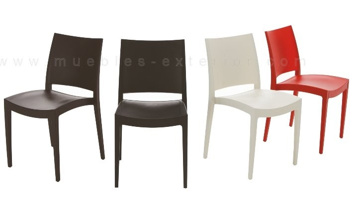 Casas cocinas mueble sillas de terrazas baratas for Sillas de plastico baratas