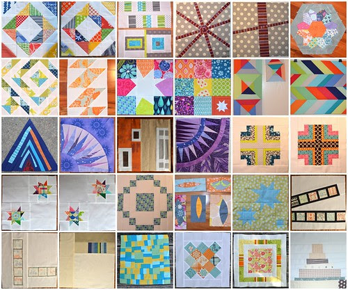 Bee Blocks 1 - 2012