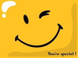 Papel de parede 'Você é Especial'
