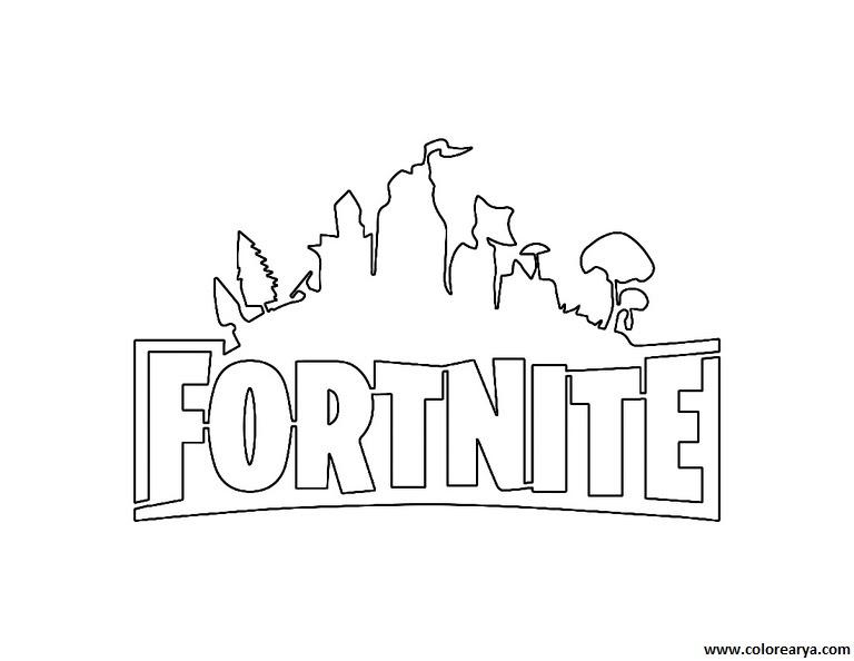 Dibujos De Pintar De Fortnite Dibujos De Fortnite Para Colorear Y