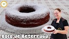 Receita - O que fazer com a beterraba..???   bolo vermelho de beterraba   bolo deliciosa de beterraba #480
