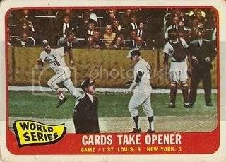 #132 World Series Game One: Cards Take Opener