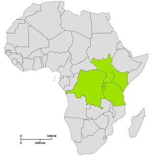 Location of East African Community