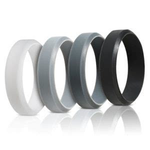 Silicone Wedding Rings For Men (Beveled Design) ? Saco Band