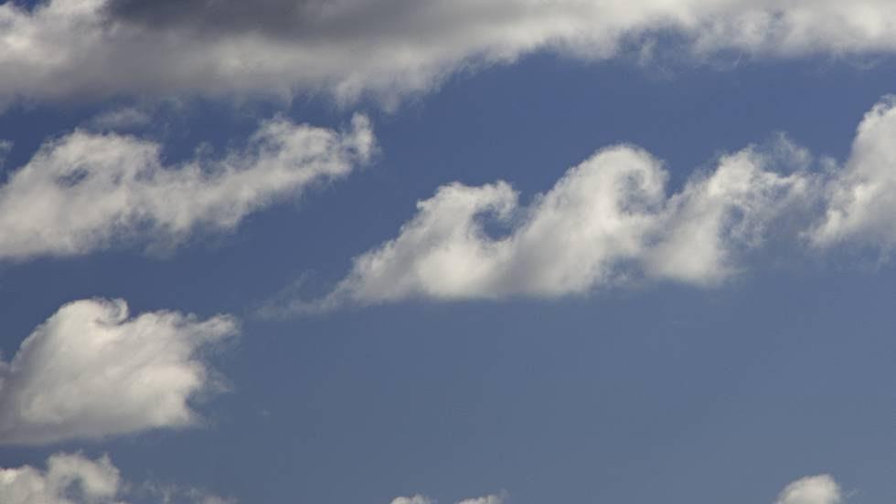 Una nube de tipo fluctus.