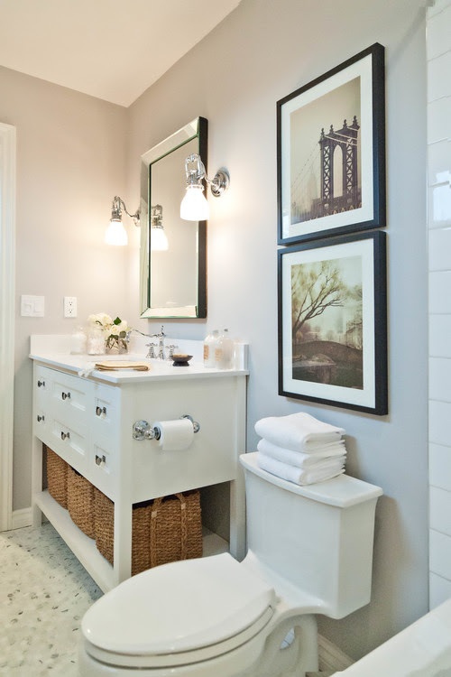 Ideas on How to Decorate a Small Bathroom by cassbrothers.com.au