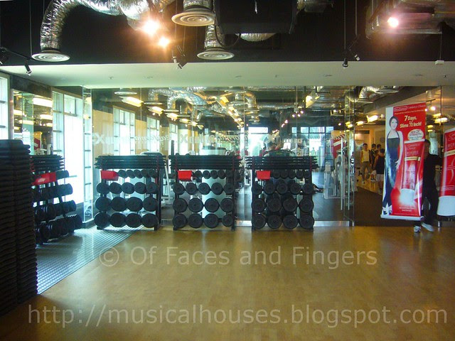 california fitness room 1