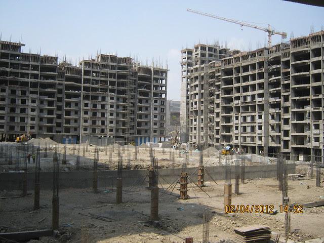Sunway - Megapolis Smart Homes 2, Hinjewadi Phase 3, Pune 411057 - Columns of podium & A 1, 2, 3 & 10, 11 Buildings