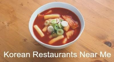 korean restaurants places  eat