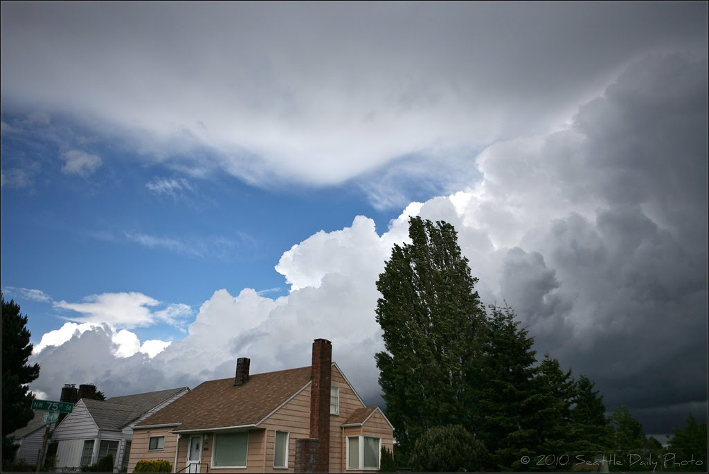 Skywatch Friday:  Spring Storm Scape