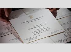 PHOTOS: Invitations to Prince Harry and Meghan Markle's royal wedding   Business Insider