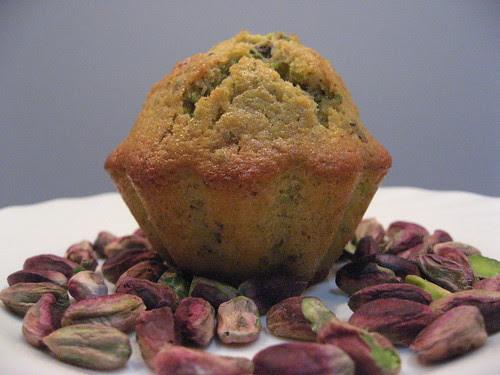Muffins pistacchi e Cardamomo -Stefania Cuozzo
