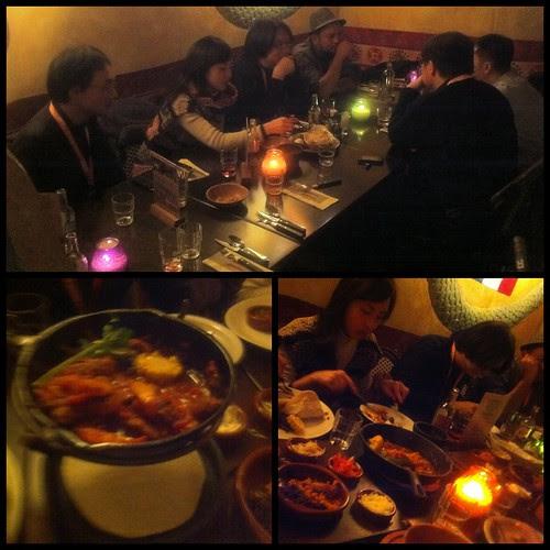CNY's Eve Reunion Dinner with filmmaking brethren