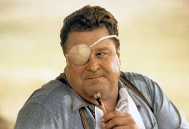 John Goodman as the Cyclops