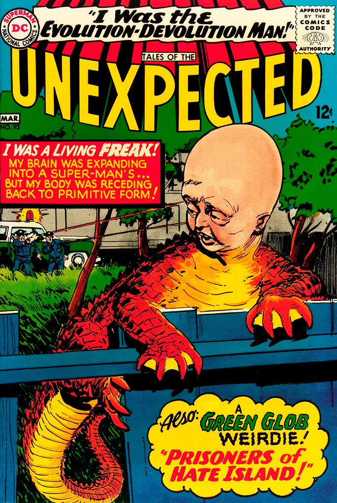 Tales of the Unexpected #93 (DC, 1966) Jack Sparling cover