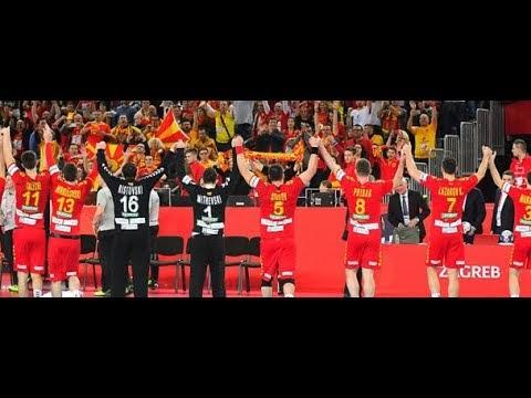Macedonian Handball Team - Conquering Poland