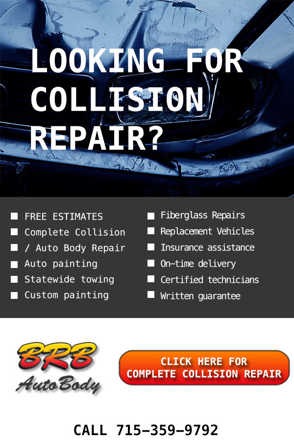 Top Rated! Professional Collision repair in Rothschild