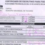 EXCLUSIVO: en el Correo borraban los votos de Cano con PHOTOSHOP antes de cargar los datos en el