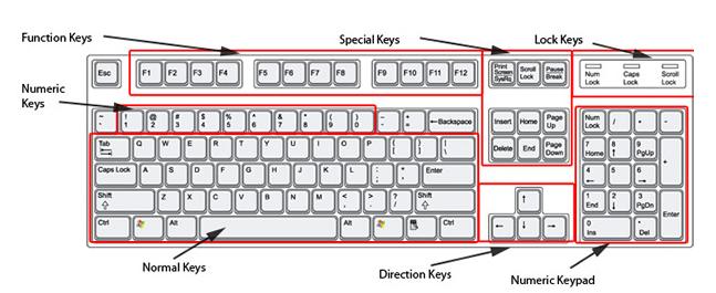 Keyboard Keyboard Qwerty Keyboard Image Computer Keyboard Keyboard Chart Keyboards Qwerty Image Qwerty Keyboard Function Keys Special Keys Lock Keys Numeric Keys Direction Keys Numeric Keypad Keyboard