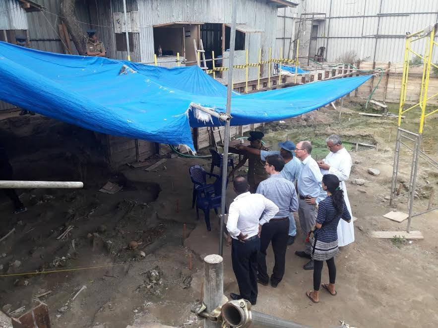 Mass grave discovered in Mannar