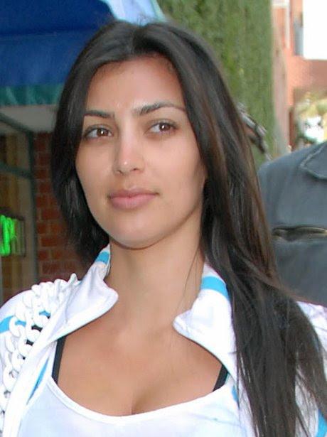Kim Kardashian Without Makeup 2  Sassy Dove