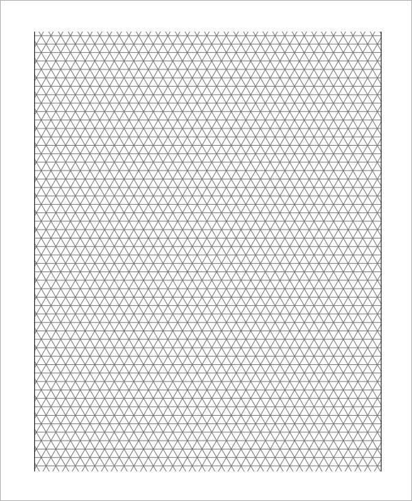 3D Isometric graph paper2